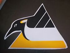 """NHL HOCKEY JACKET / TEAM PATCH - PITTSBURGH PENGUINS - 11 1/4"""" x 14"""" - NEW!"""