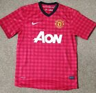 Manchester united 2012-13 home shirt signed by SAF and 21 players COA.