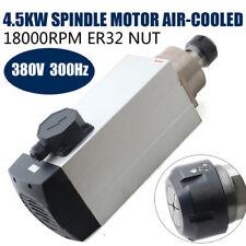 4.5 kW 380V ER32 Luftgekühlte Spindelmotor Spindelmotor electric spindle neu