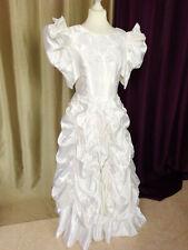 Robe de mariée vintage 80/90 satin parfait état Taille FR40 US8 UK12 EUR38