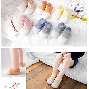 Kids' Baby Warm Toddler Anti-slip Slippers Socks Cotton Shoes 6-24 H