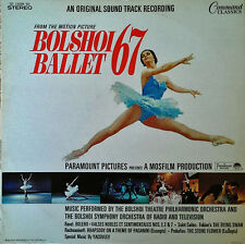 BOLSHOI BALLET 67 - LP SOUNDTRACK - COMMAND CLASSICS