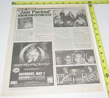 A Perfect Circle Concert Ad Advert 2004 Tour Tool Pnc Arts Center Hard Rock 2