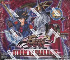 YUGIOH STORM OF RAGNAROK BOOSTER 12 BOX CASE BLOWOUT CARDS