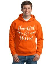 Thankful and Blessed Thanksgiving Hoodie Sweatshirt
