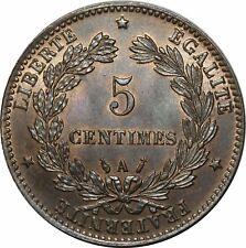 O301 Rare 5 Centimes Cérès 1885 A Paris FDC !!!!!!!!!!!!!! > Faire offre