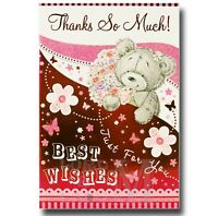 Thank You / Thanks Cards - Various Designs Available