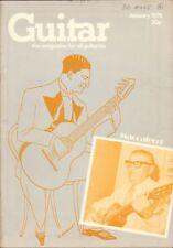 GUITAR MAGAZINE Vol 4 No 6 January 1976 Mario Maccaferri Bernie Holland
