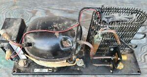 12 volt Fridge Compressor Coolmatic CU-54  Waeco Danfoss BD35F - Good working