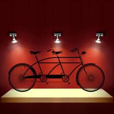 Wall Decal Tandem Bike Sport Bicycle Cycle Nursery Bathroom Bedroom M1309