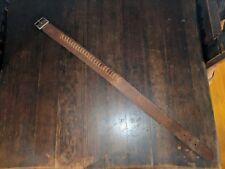 Leather Belt HUNTER WESTERN AMMO VNT Bullet Gun Men's Cowboy Cartridge Hunt