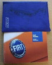 FIAT Panda Manuale Proprietari Manuale Wallet 2003-2012 Pack 16419