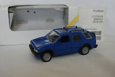 Gama 1/43 - Opel Frontera 5 portes bleu + boîte
