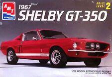 ERTL 1967 1/25  Shelby GT -350 Fastback Model Car KIT No. 6633