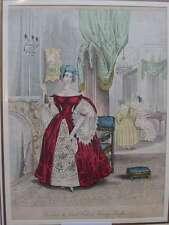Originaldrucke (1800-1899) mit Mode- & Trachten-Motiv und Kupferstich-Technik