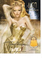 Publicité Advertising 2012 parfum ALIEN essence absolue thierry mugler