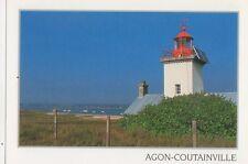 Agon Coutainville Postcard France 345a ^