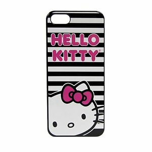 NEW Sanrio Hello Kitty  Stripes Polycarbonate Wrap for iPhone 5