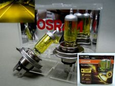 H4 9003 OSRAM 12V 55W/60W FOG BREAKER 2600K Yellow Globes Head Light #EWGT 2 Pcs
