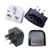 Euro Converter Adaptor EU 2 to 3 Pin Plug UK Travel Mains Connections Plug