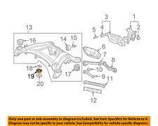MERCEDES OEM 05-16 SLK350 Rear Suspension-Upper Mount 2103511942