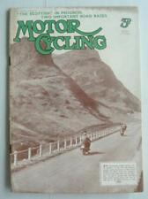 May Weekly Motor Cycling Magazines