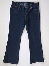 Levi's Slight Curve Mid Rise Boot Cut Dark Blue Stretch Denim Jeans 12 x 29 $54