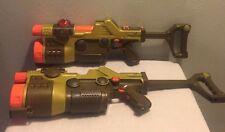 Lazer Tag Team Ops Master Blaster Laser Gun Tiger Electronics Lot 2