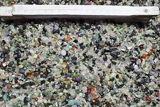 Chips Trommelsteine mix 1,0 kg Bergkristall Amethyst Serpentin Onyx
