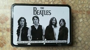 The Beatles - Special Edition Playing Card Set - box collection 2 decks