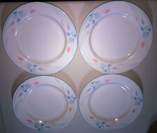 EXCEL Fresh Flowers Dinnerware: 7 Dinner Plates in Beautifu!l Iris Pattern!