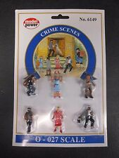Model Power O Scale Crime Scenes Pack (6 Figures) - MP6149