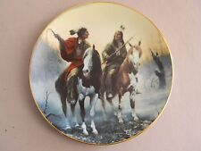 Prideful Ones Collector Plate- Village Markers - Chuck DeHaan-93