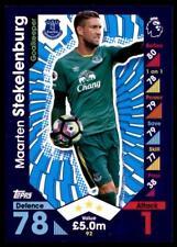 Match Attax 2016-2017 Maarten Stekelenburg Everton Base card No. 92