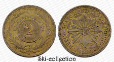 2 Centesimos 1869 Republica Oriental del Uruguay. Bronze