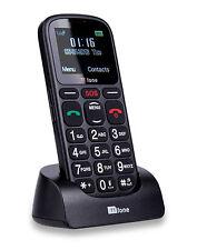 TTFone cometa Big Button básico simple senior de fácil uso SIM teléfono móvil libre