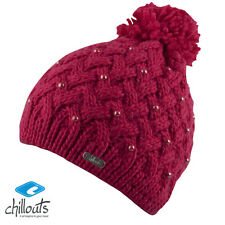 Chillouts Anika HAT POMPOM WINTER HAT/ Beanie for Women and Men in Pink