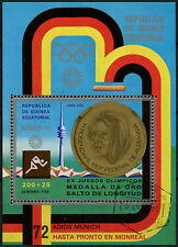Equatorial Guinea 1972 Olympic Games, Cto Used M/S #A92632