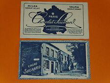 CHROMO PHOTO CHOCOLAT SUCHARD 1928 FRANCE BAZEILLES DERNIERES CARTOUCHE ARDENNES