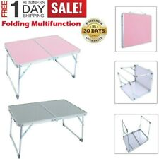 Aluminum Folding Table Portable Indoor Outdoor Picnic Party Camping BBQ Tables.