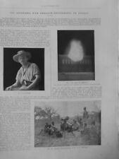 1906 Aventures Chasseur Fotograf Afrika Ös Appareil Foto Magnesium