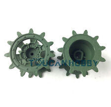 HengLong 1/16 German Leopard2A6 Rc Tank 3889 Plastic Sprockets Driving Wheels