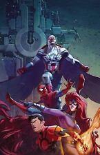Spider Man Inhuman Captain America