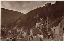 Postcard Lynmouth near Lynton Devon Mars Hill by Richards, Tobacconist RN.60