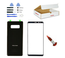 Front Glass Lens Black Back Cover Replacement LCD Repair Fit Galaxy Note 8 N950