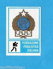 CAMPIONI dello SPORT 1973/74-Figurina n.288- PUGILATO - STEMMA -Rec