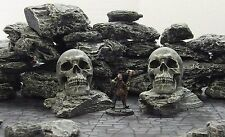 FROSTGRAVE (suited) - 'ROCK SKULLS' - PRE PAINTED FANTASY TERRAIN