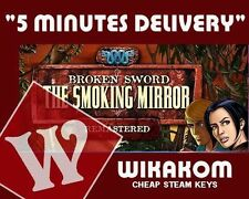 Broken Sword 2: The Smoking Mirror Steam Keys Fast Delivery