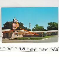 Vintage Postcard Motel Yukon Oklahoma
