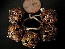 & Rare Very Beautiful Cheap Price Don't Miss Whole Sale Set of 5 Gold Button Old